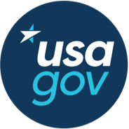 USA.gov Logo, Government Made Easy